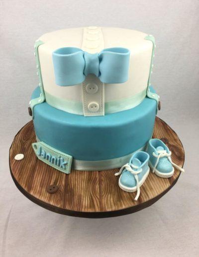 Eistorten Da Rino Bottrop blau zum Kindergeburtstag Junge
