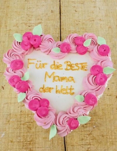 Eistorten Da Rino Bottrop zum Geburtstag Mama