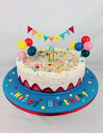Geburtstagstorten Da Rino Bottrop bunt mit Streusel