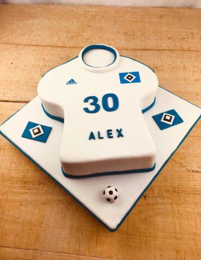 Geburtstagstorten Da Rino Bottrop HSV Fan Trikot