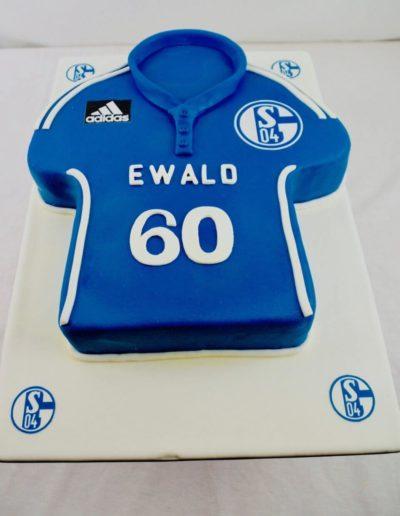 Geburtstagstorten Da Rino Bottrop Schalke Fan Trikot
