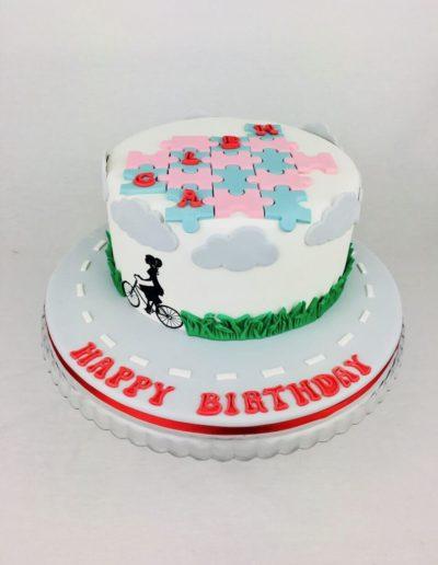 Geburtstagstorten Da Rino Bottrop Strasse und Puzzle