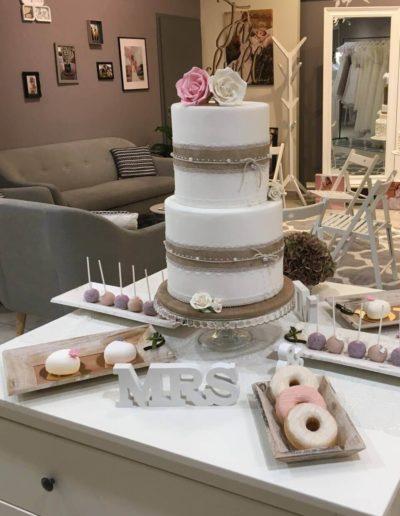 Hochzeitstorten Da Rino Bottrop weiss klassisch