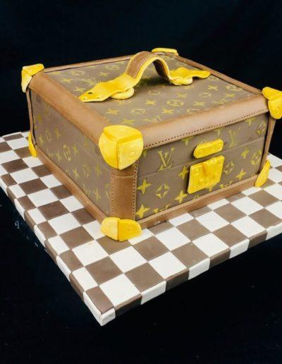 Motivtorten Da Rino Bottrop Louis Vuitton Kiste