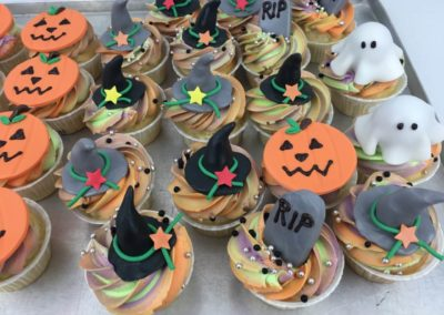 Sweet Table Da Rino Bottrop Halloween Cupcakes