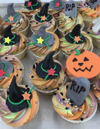 Sweet Table Da Rino Bottrop Halloween Cupcakes