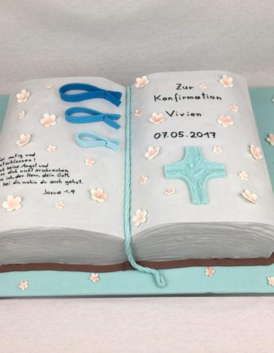 Torten Da Rino Bottrop zur Konfirmation Buch