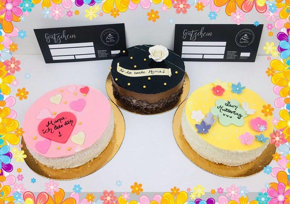 Muttertagsgeschenk- Torte und Gutschein