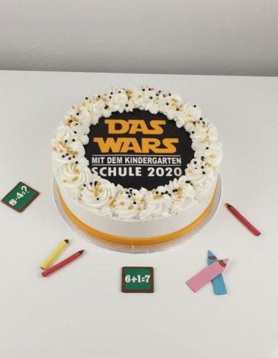 Einschulungstorte bestellen Star Wars