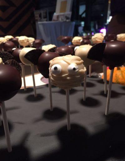 Halloween Cake Pop Fledermaus