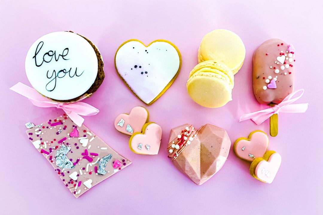 Valentinstag Geschenk Sweets Mix