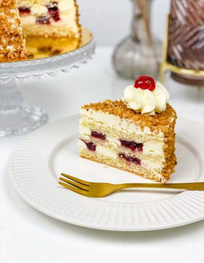 Mini Torte Frankfurter Kranz Stück
