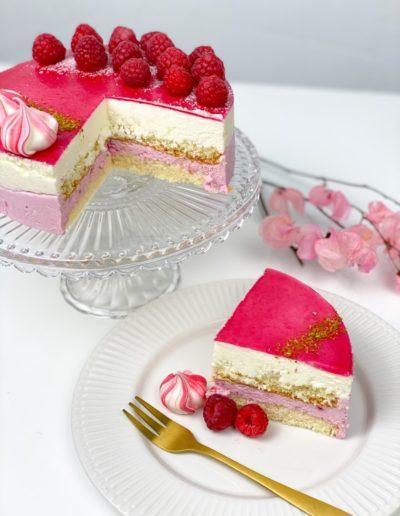 Mini Torte Himbeer