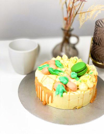 Mini Torte Pfirsich Maracuja