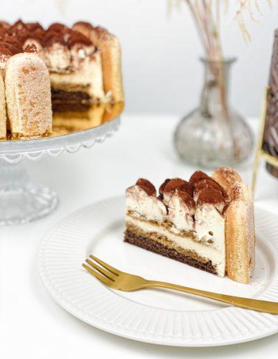 Mini Torte Tiramisu Stück