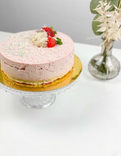 Da Rino Erdbeer Sahne Kuchen