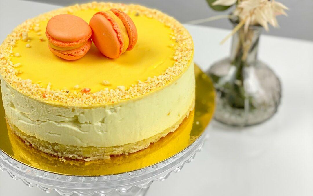 Mini Kuchen Mango Buttermilch
